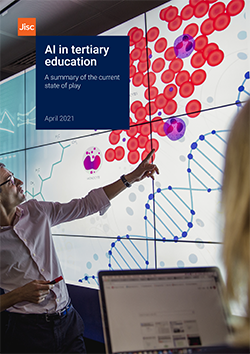 AI in tertiary education report front cover