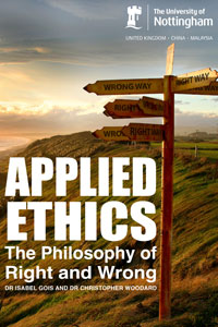 Applied ethics e-textbook cover