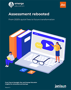 Front cover of the assessment rebooted report