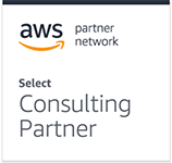 Amazon Web Services partner network select consulting partner logo