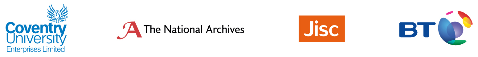 Coventry University, The National Archives, Jisc and BT
