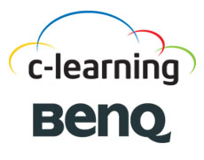 C-Learning and BenQ logo