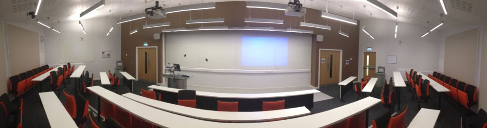 City, University of London's interactive lecture theatre