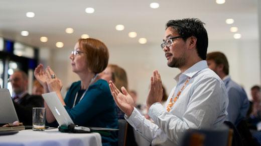 Delegates at Jisc and CNI conference 2016