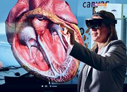 Deb Millar using VR