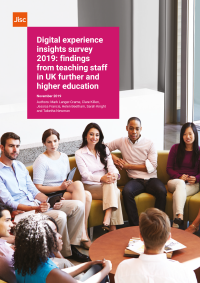 Digital experience insights staff survey 2019 report cover