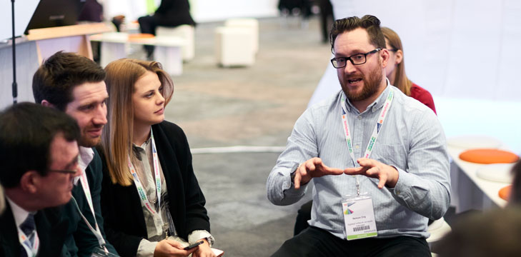 Group discussion at Digifest 2016