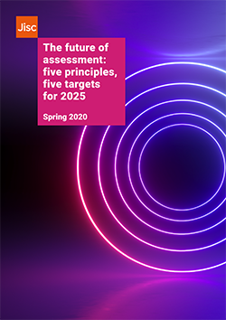 Front cover of future of assessment report