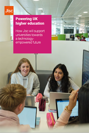 Jisc higher education strategy document cover