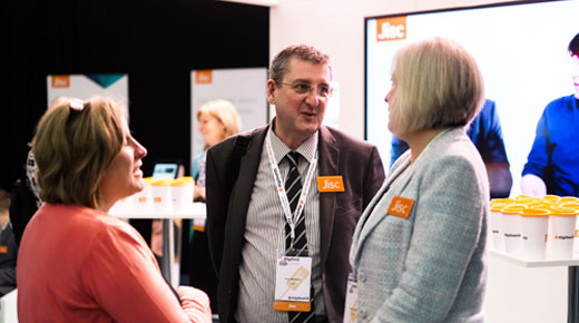 Staff at the Jisc Digital Festival 2015