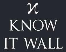Know It Wall logo