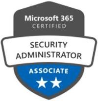 Microsoft Partner Security Administrator Associate badge