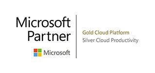 Microsoft Partner - Gold Cloud Platform, Silver Cloud Productivity