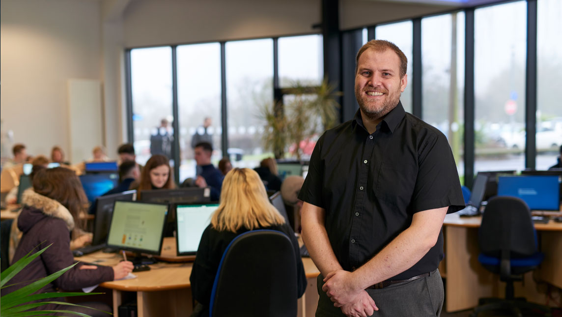 Ross Anderson, e-learning ambassador, North Lindsey College