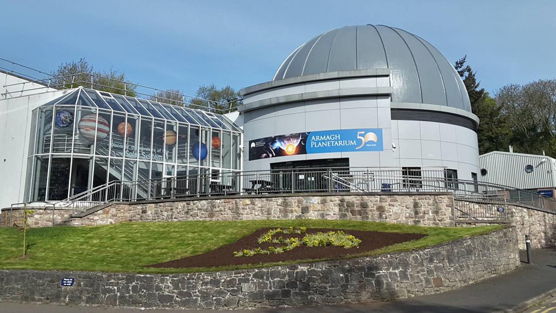 Armagh Planetarium, the largest planetarium in Ireland