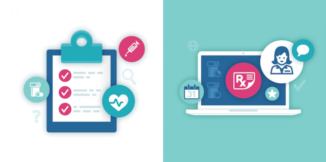 Health information illustrations