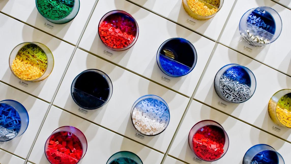 Lego buckets