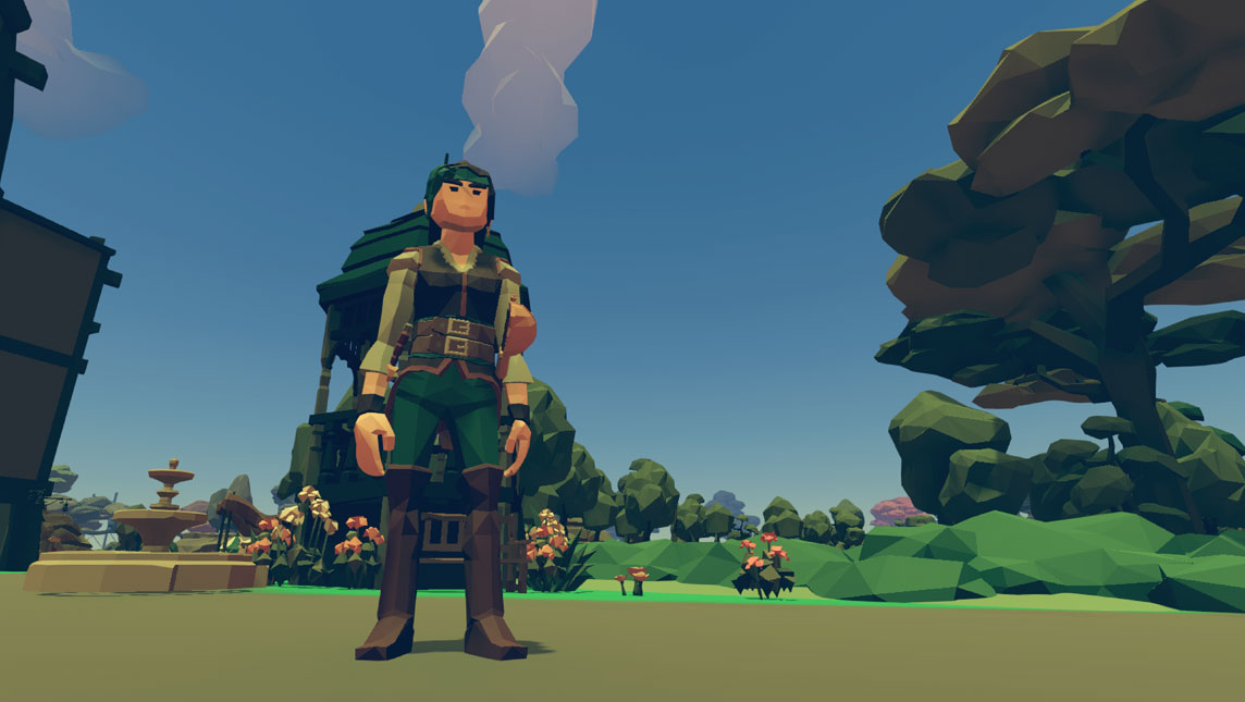 Screenshot from the Lincoln Island videogame