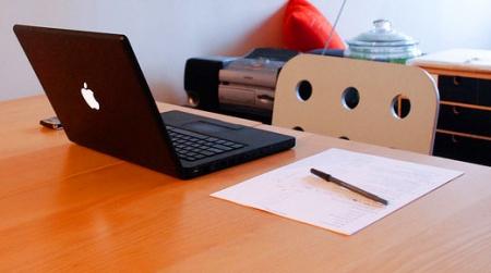 Desk working