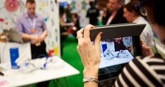 Jisc Digital Festival 2015 - taking photos in the Fab Lab