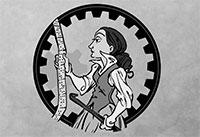 Ada Lovelace Day illustration taken from Ada Lovelace infoposter