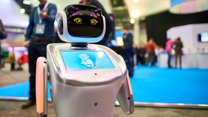 Robot at Digifest