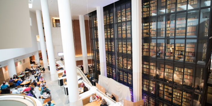 Academics Are Choosing The Library As Their First Choice For Getting Hold Of Scholarly Material Because Access Is Quick It Helps Them Make New Connections