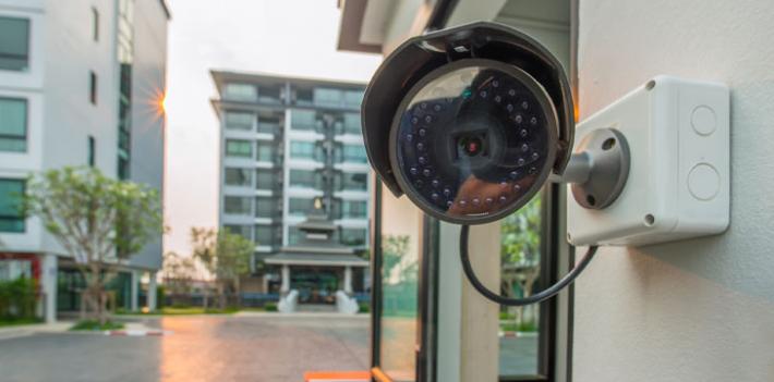 Campus security camera