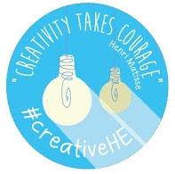 creativeHE community badge