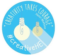 creativeHE community badge