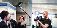 Filming at Digifest 2014