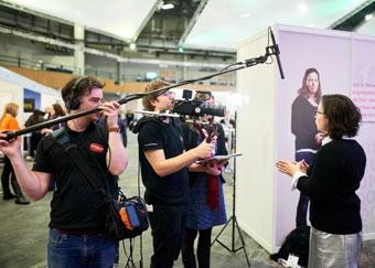 Filming at Digifest 2016