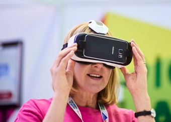 Virtual reality at Digifest 2016