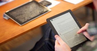 Using an e-reader