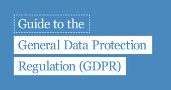 ICO guide to the GDPR