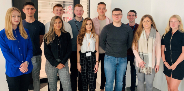 Group of apprentices at Jisc