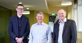 Paul Clark, chief executive of HESA, Paul Feldman, chief executive of Jisc and Douglas Blackstock, QAA chief executive
