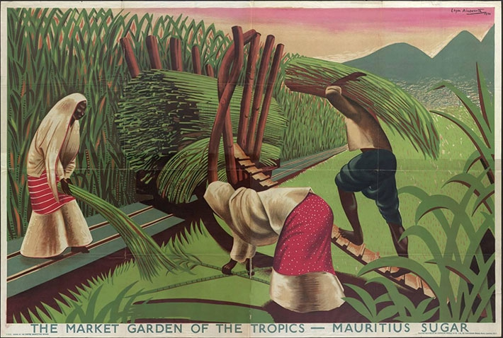 The Market Garden of the Tropics, Mauritius Sugar, 1930