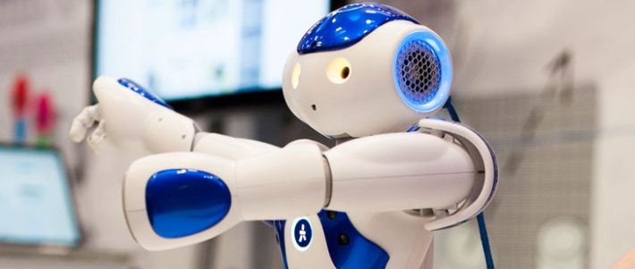 NAO the robot at Jisc Digital Festival 2015