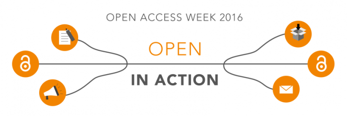 Open Access Week 2016: open in action