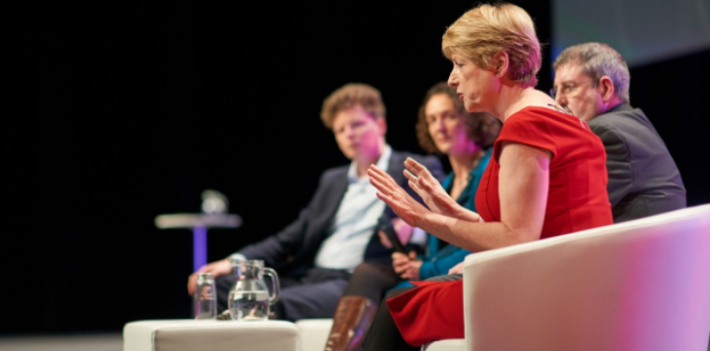 Rose Luckin speaking at Digifest 2018