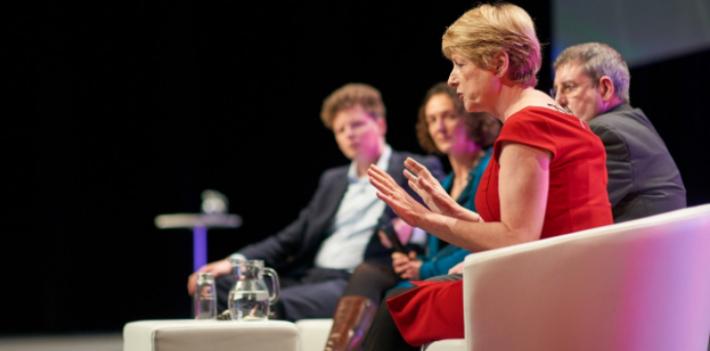 Rose Luckin speaking at Digifest 2018