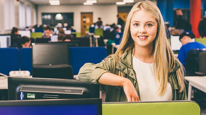 Student at Belfast Metropolitan College