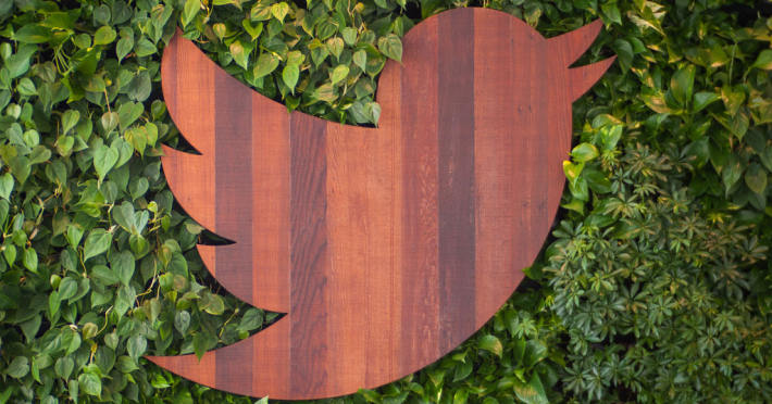 Twitter HQ: logo artwork
