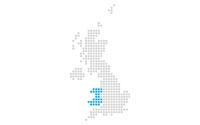 Map showing Jisc Wales region