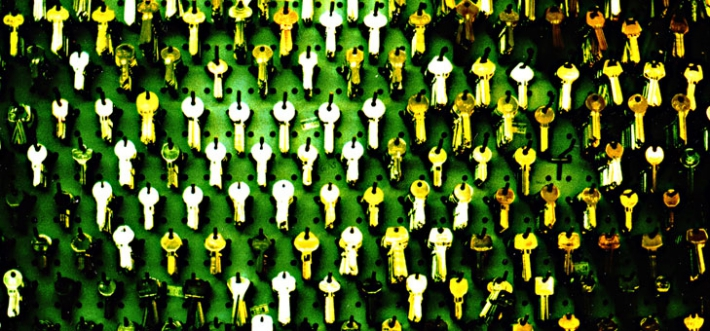 Wall of keys