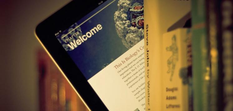 Digital bookshelf