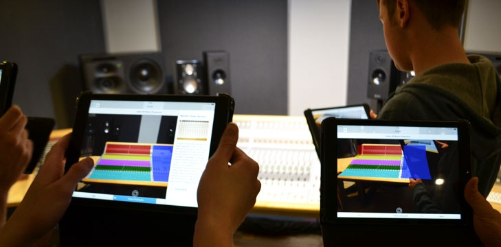 Augmented reality for music production at Leeds College of Music