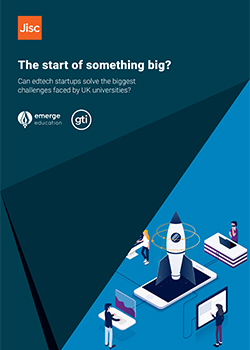 Front cover of the start of something big edtech report