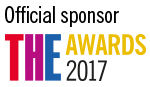 Times Higher Education Awards 2017 official sponsor
